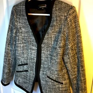 6P Laura Petites wool blend blazer